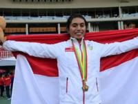 Maria Londa Persembahkan Medali Emas Ketiga