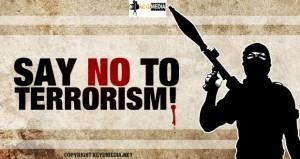 say no to terorisme