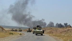"""القوات العراقية تصد هجوماً لـ""""داعش"""" على عامرية الفلوجة"""