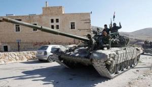 الجيش السوري يتقدم في الغوطة الشرقية ويقتل عشرات المسلحين