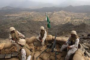 tentara saudi di jizan