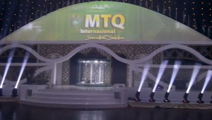 arena MTQ Internasional Palembang 2014. (foto:tempo)