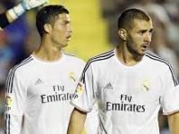 Ronaldo-Benzema Lesakkan 5 Gol