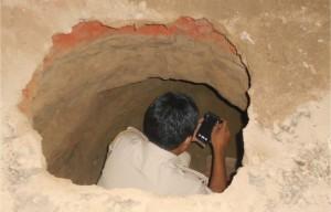 terowongan bank