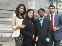Foto: 4 Delegasi asal Indonesia/Detikcom