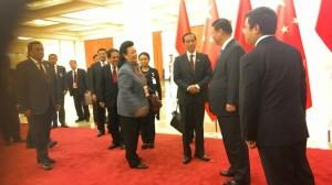 Jokowi di Beijing