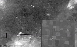 gambar satelit mh17
