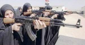 irak perempuan bersenjata