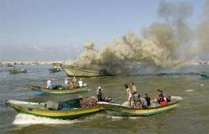 nelayan palestina