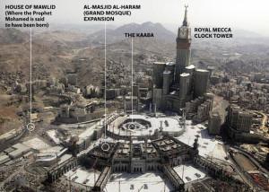 saudi penghancuran situs islam di mekkah