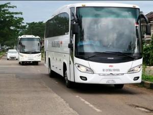 bus listrik karya Dasep buatan Depok/detik.com