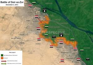 pertempuran deir al-zor suriah