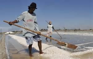 petani garam di Madura