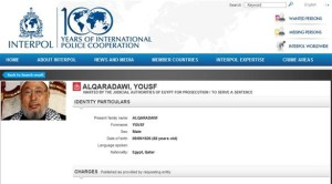 qaradawi interpol