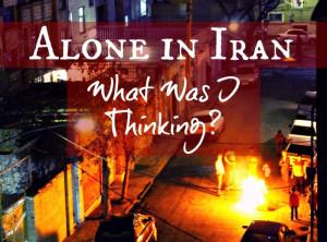 Alone in Iran 1