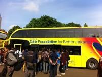 Dapat Hibah, DKI Tambah Koleksi Bus Tingkatnya