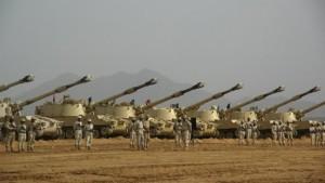 tentara saudi