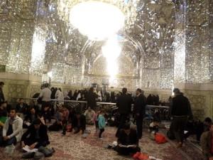 Salah satu ruangan dalam haram Imam Ridho