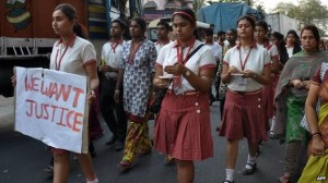 demo anti perkosaan india