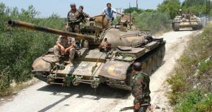 pasukan tank suriah