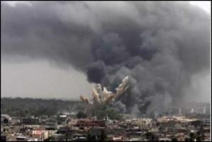 serangan udara saudi ke yaman