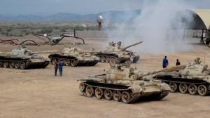 tank saudi