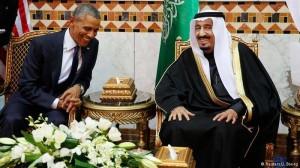 Obama dan Raja Salman