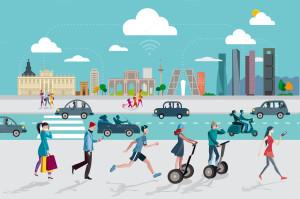 Illustrasi Smart City/Creativemarket.com