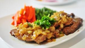 Steak Tempe/Resephariini.com