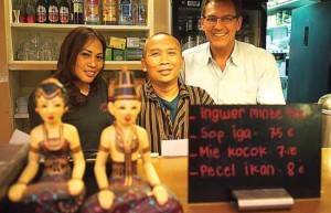 Pemilik Restoran Indonesia di Berlin/JAWAPOS