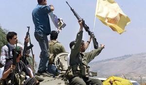 hizbullah kibarkan bendera