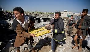 korban serangan saudi ke yaman