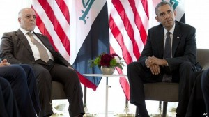 obama dan pm irak