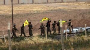 pasukan YPG suriah