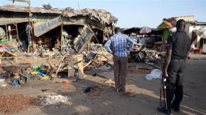 ledakan nigeria