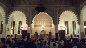 suasana tarawih di Maroko (foto:Alvian)