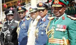 pimpinan militer nigeria
