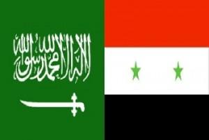 bendera suriah dan saudi