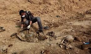 jenazah yazidi irak