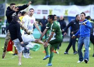 NEWS : Altercation Lille vs Maccabi Haifa - 07/23/2014