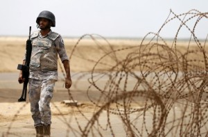 tentara saudi di perbatasan yaman