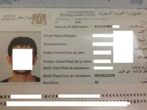 Paspor Suriah