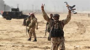 Tentara Irak menang