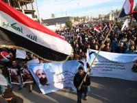 [Foto] Rakyat dan Tentara Irak Berdemo, Kecam Eksekusi Syaikh Nimr
