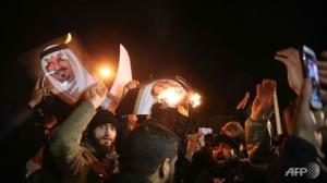 demo anti saudi di teheran