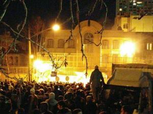 demo anti saudi di teheran2