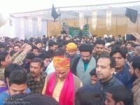 [Foto] Muslim Sunni-Syiah dan Umat Hindu India Berdemo Kecam Eksekusi Syaikh Nimr