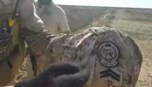 atribut tentara saudi di irak2