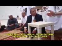 Video Aher dan Syekh Saudi (Subtitle Indonesia)