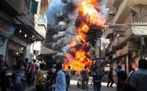 teror bom di suriah